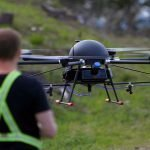 Drone swarms for tree planting and spraying operations