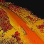 Large-scale UAV-Lidar survey in the tropics